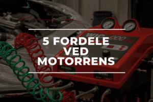 5 fordele ved motorrens hos au2rep autoværksted Sorø