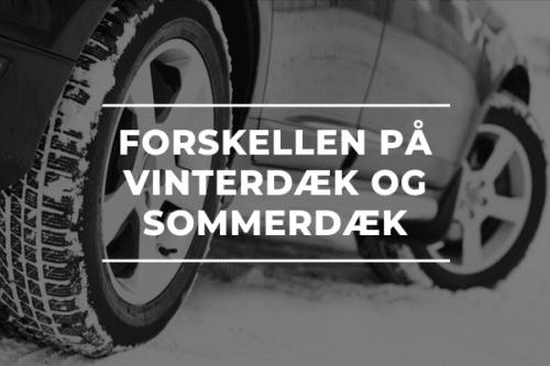 FORSKELLEN PÅ VINTERDÆK OG SOMMERDÆK