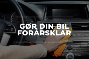 Gør din bil forårsklar med autoværksted sorø