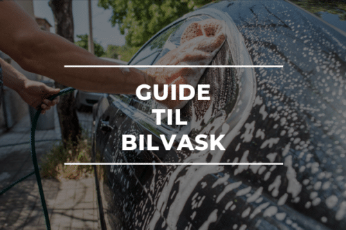 GUIDE TIL BILVASK