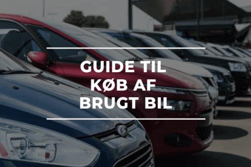 Guide til køb af brugt bil