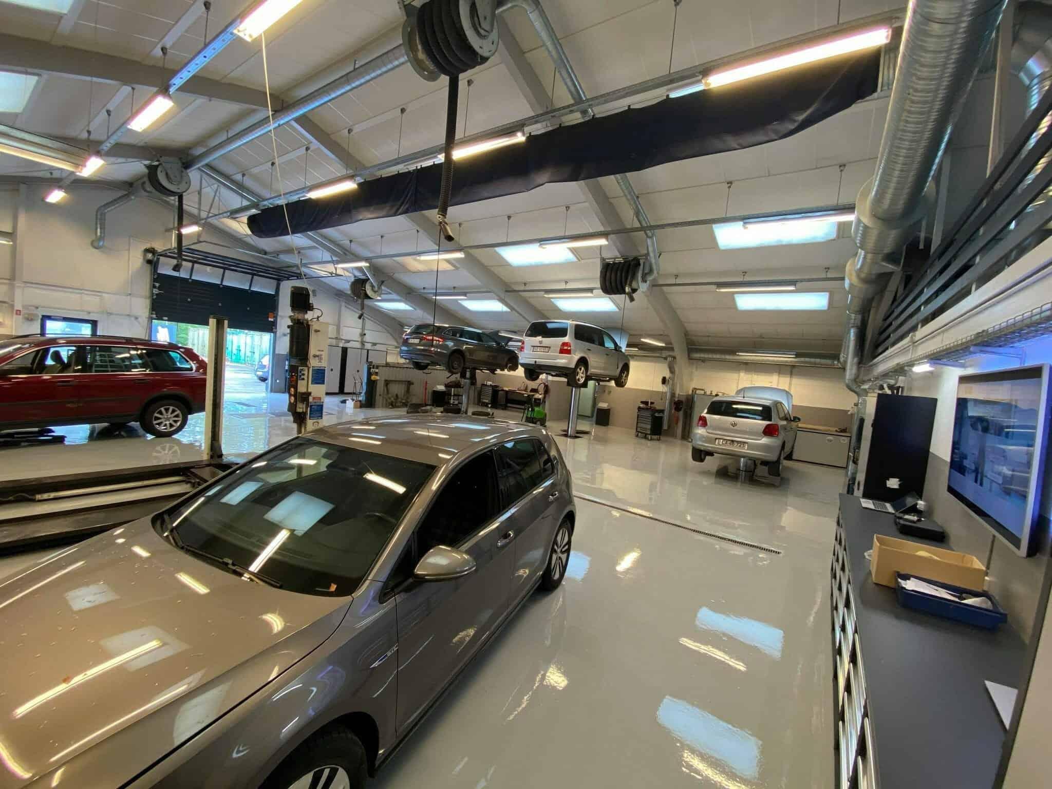 Au2rep Næstved bilværksted